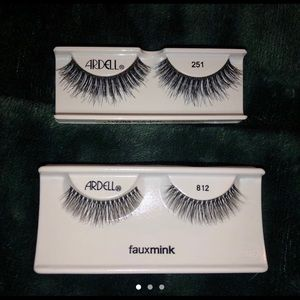 2 sets of Ardell lashes!